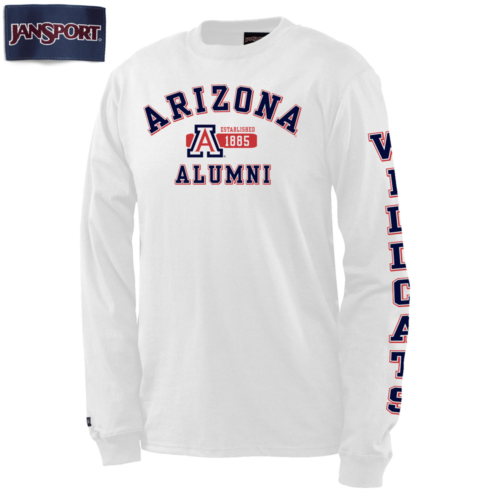 Image For JanSport: Arizona Wildcats Alumni Pregame Long Sleeve Tee