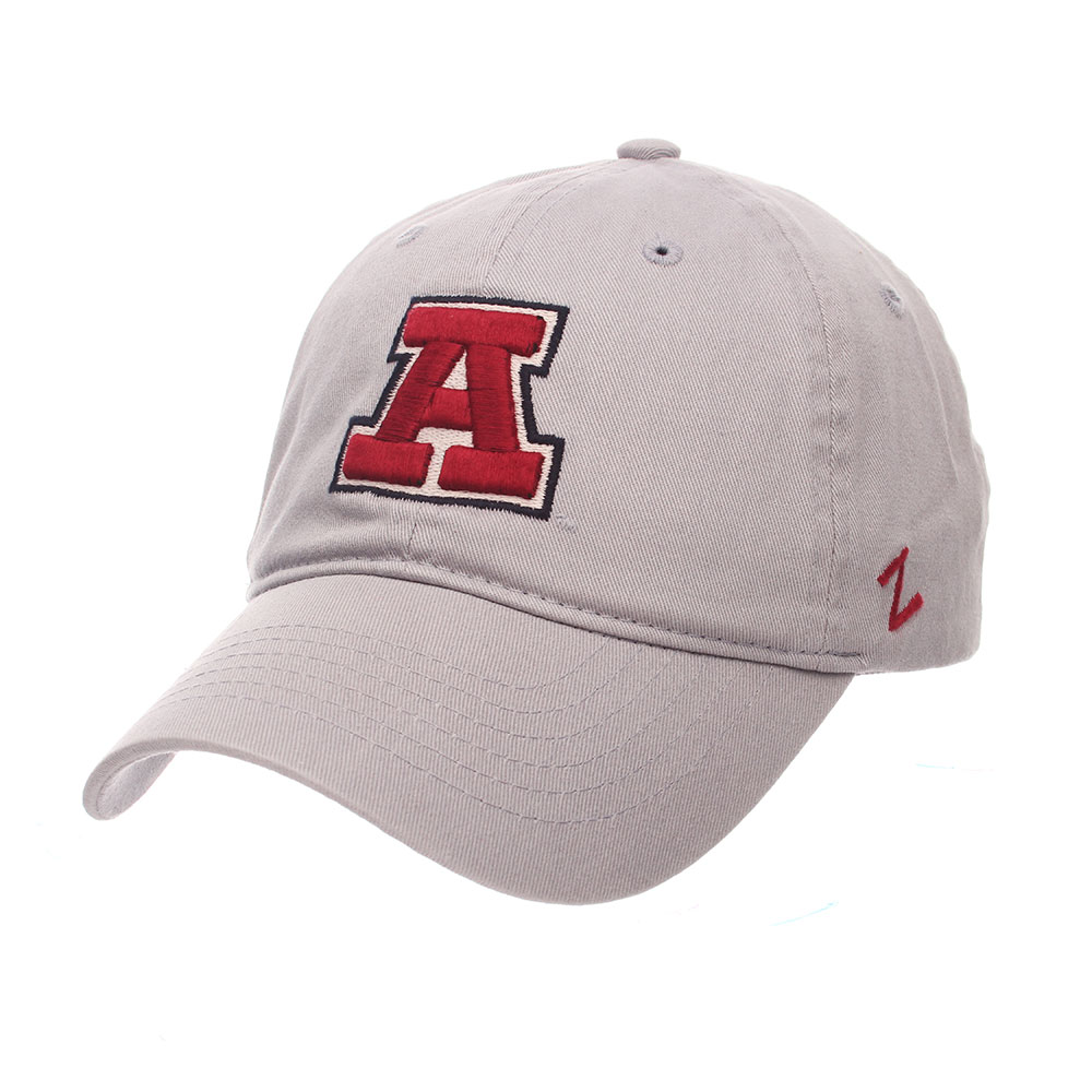 Image For Zephyr: Arizona Vault Logo Scholarship Adjustable-Lt Gray