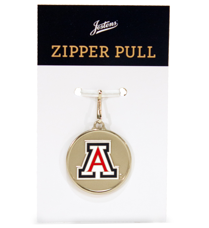 Cover Image For Jostens: Arizona Regalia Gown Zipper Pull