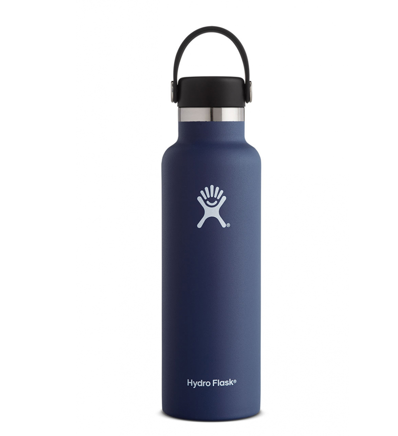 Image For Hydro Flask: 21 oz Standard Mouth Flex Cap-Cobalt