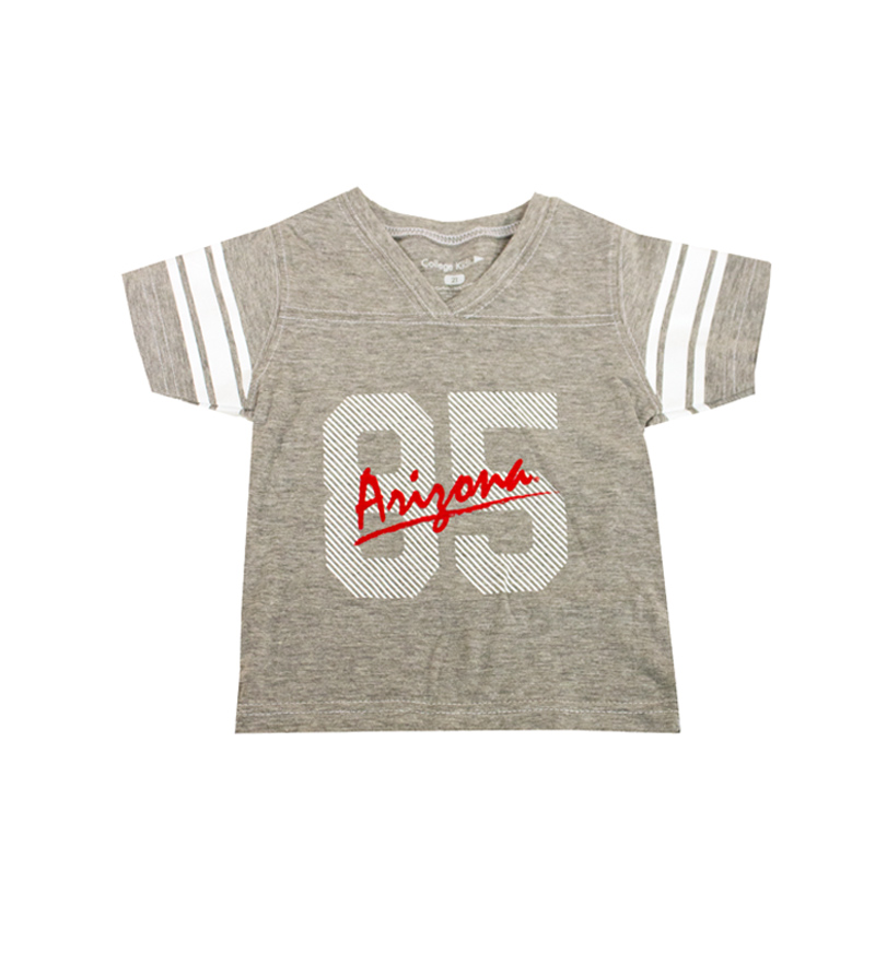 Image For College Kids: Arizona 85 Toddler Jersey Tee Gray