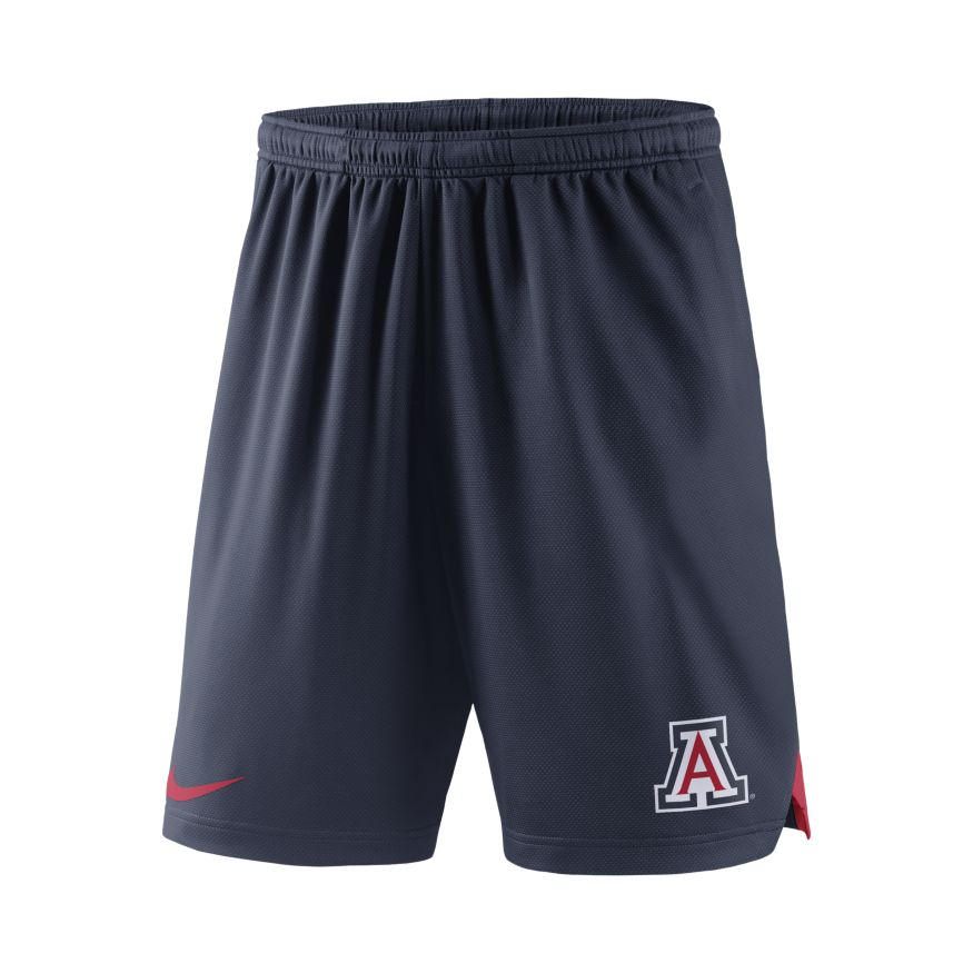 Image For Nike: Arizona Wildcats Men's Dri-Fit Knit Shorts