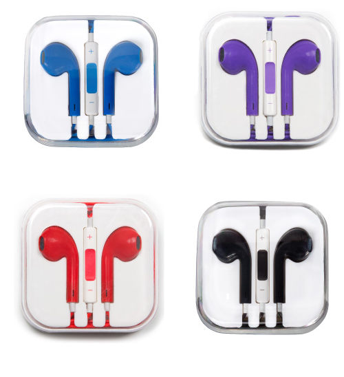 Image For iSmashD: Earpods with Remote and Mic for iPhone
