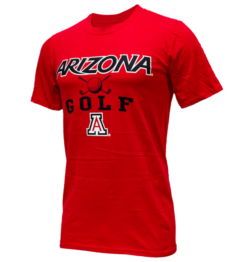Image For MV Sport: Arizona Sport Golf Red Tee