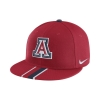 Cover Image for Nike: Arizona Wildcats Silhouette True Flat Bill Adjust-Red