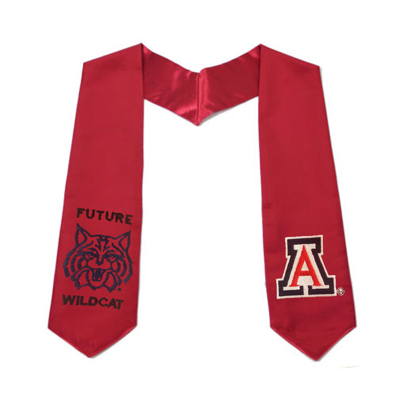 Image For Jostens: Children Future Arizona Wildcat Graduate Stole
