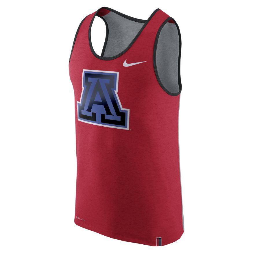 Image For Nike: Arizona Wildcats Matte Shine Dri-FIT Men's Tank