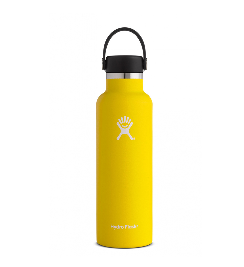 Image For Hydro Flask: 21 oz Standard Mouth Flex Cap-Lemon