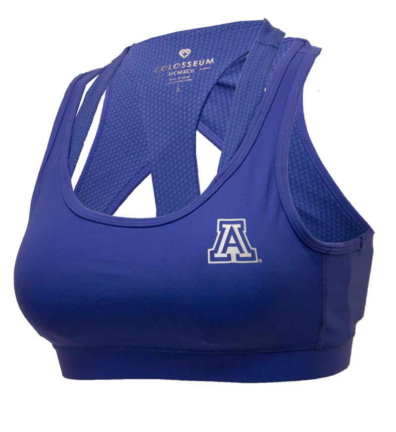 Image For Colosseum: Arizona Uptempo Energy Bra-Zenith Blue