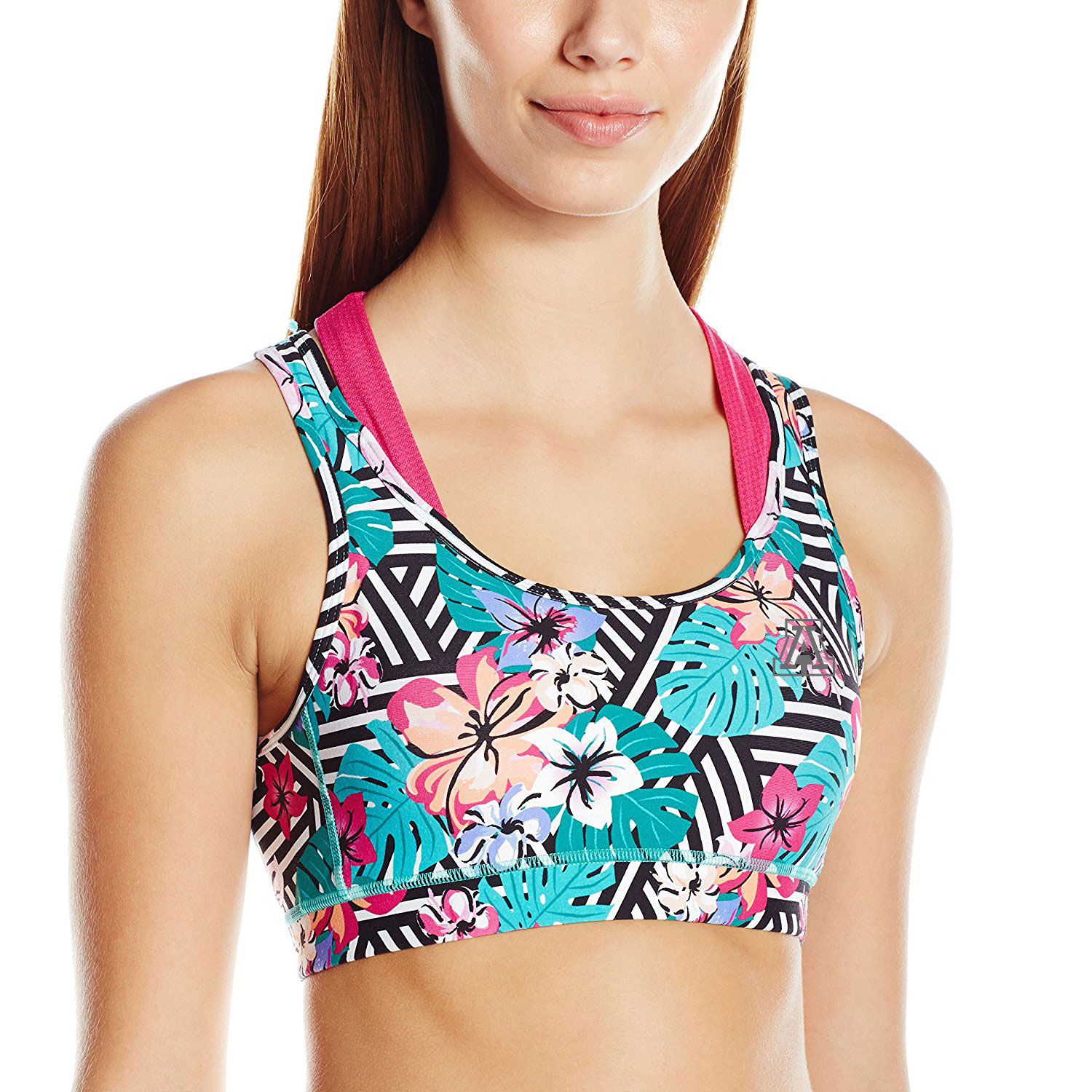 Image For Colosseum: Arizona Uptempo Energy Bra-Paradise Print