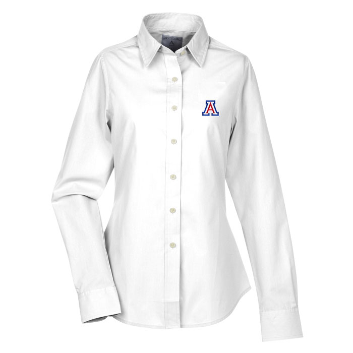 Cover Image For Antigua: Arizona Women's Dynasty Dress Shirt-White