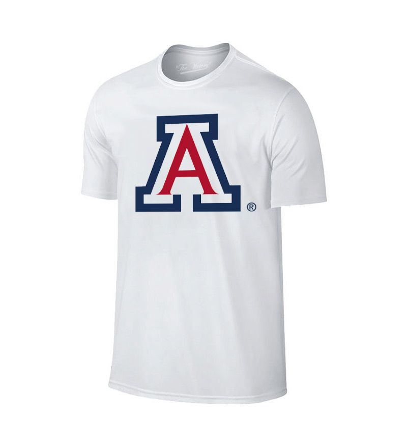 Image For The Victory: Arizona Team Logo Three Color - White