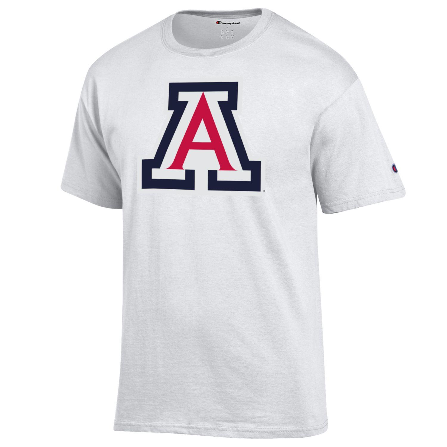 Image For Champion: Arizona Team Logo Three Color - White