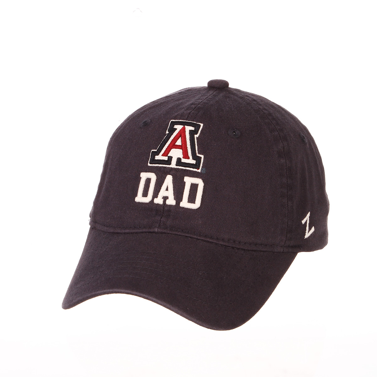 Image For Zephyr: Arizona DAD Team Logo Adjustable Hat-Navy