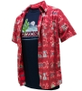 Cover Image for Retro Brand: Arizona Wildcats Aloha Hawaiian Button Down Red