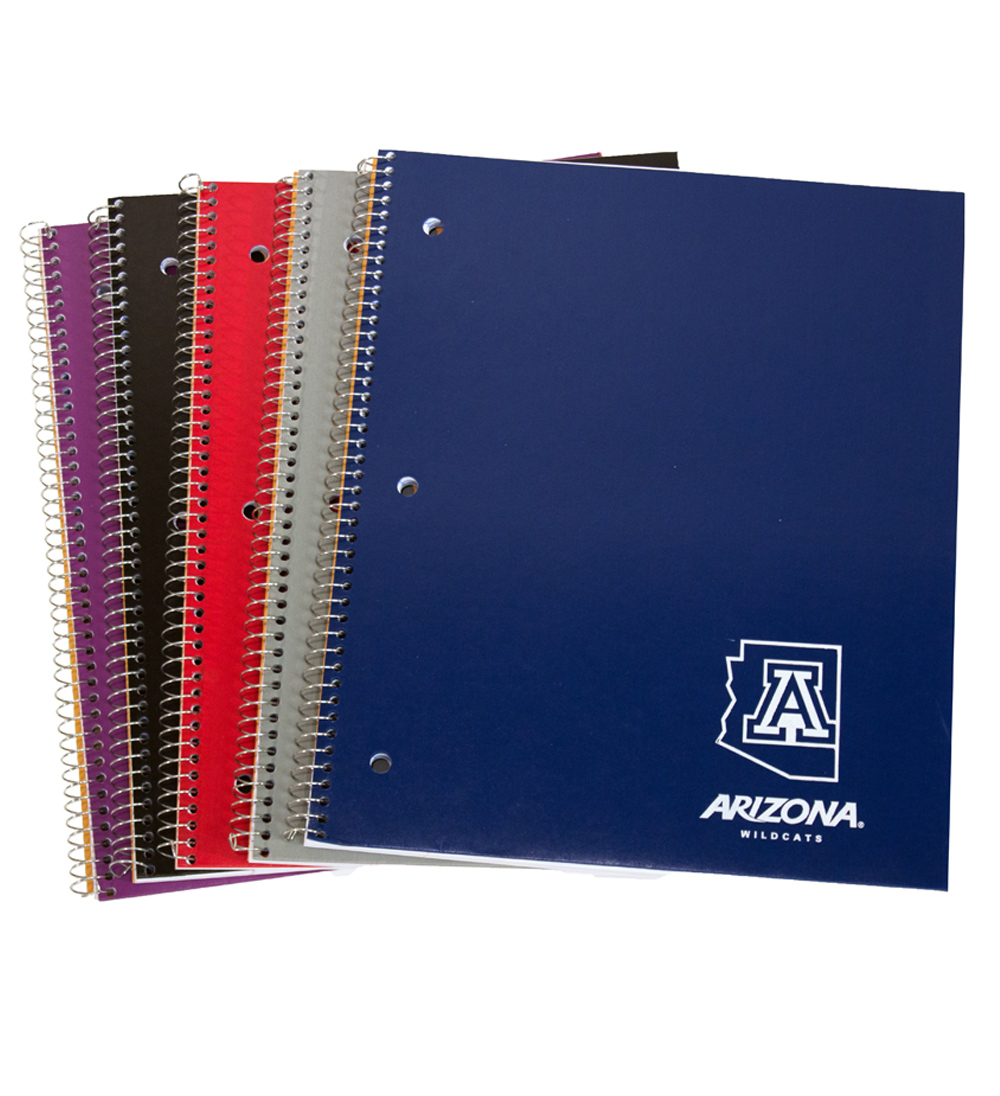 Image For Notebook: Arizona Wildcats 'A' State Corner Logo 1-Subject