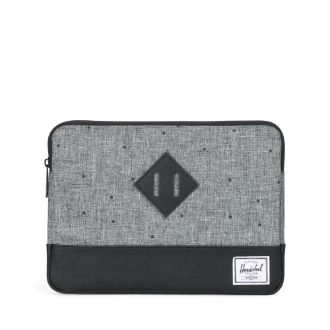 Image For Herschel Heritage Sleeve iPad Air Scattered Raven Crosshatch