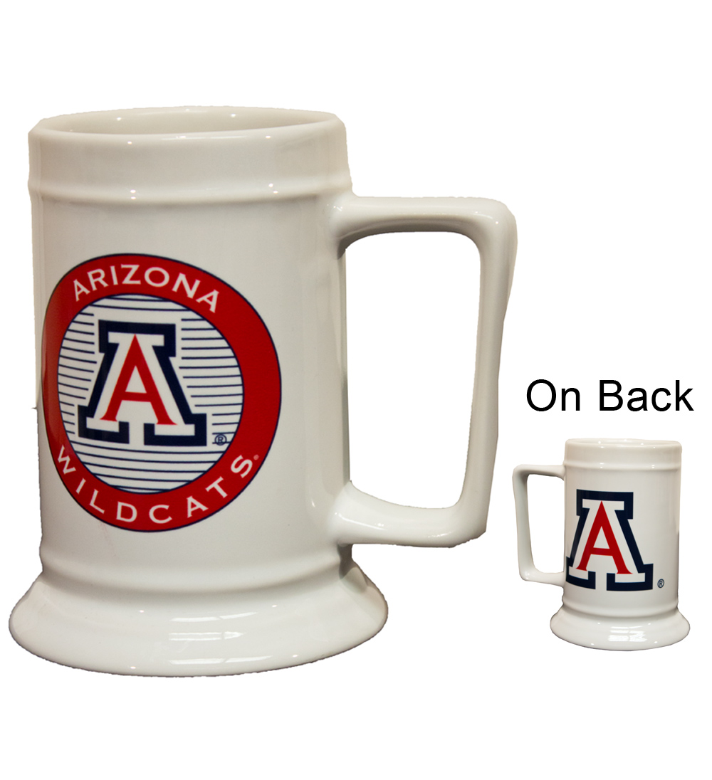 Cover Image For Coffee Mug: Arizona Wildcats Impact Ceramic Stein White