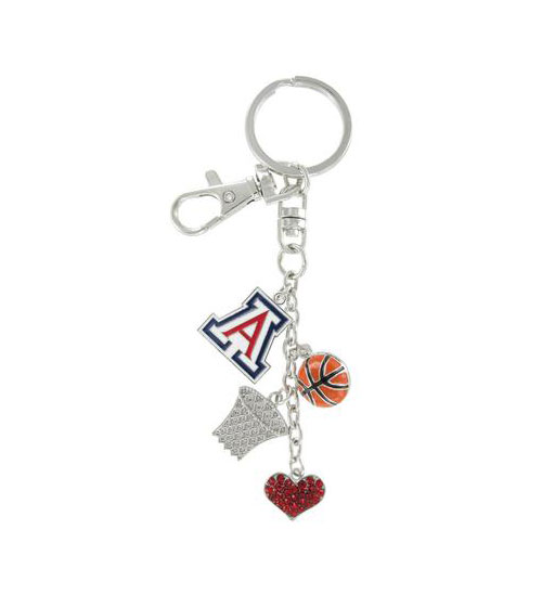 Cover Image For Keychain: Arizona Wildcats Basketball Combo by RhinestoneU