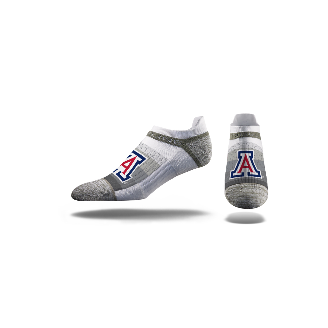 Image For Strideline: Arizona Low Stripe Fade White