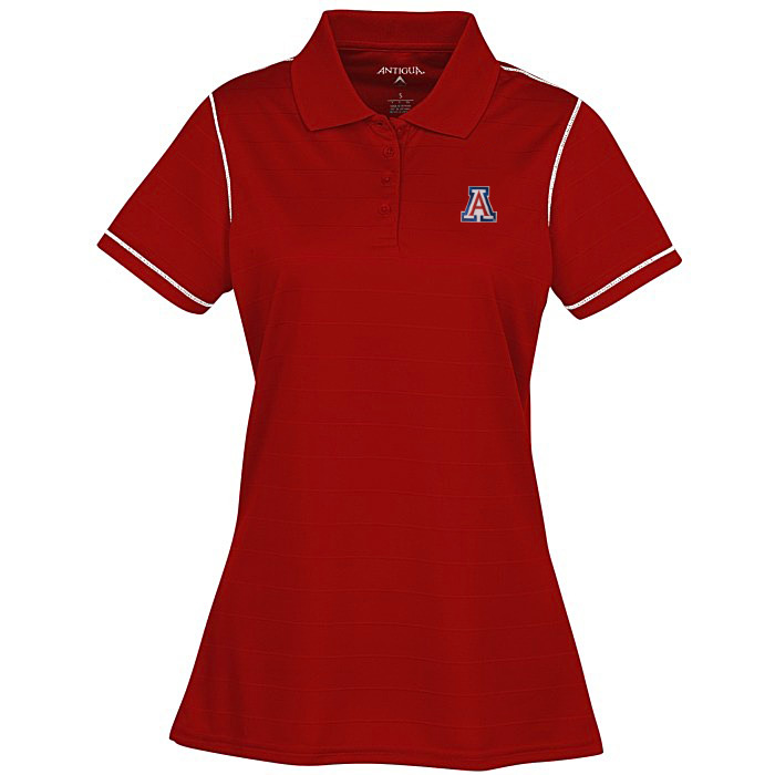 Image For Antigua: Arizona Wildcats Womens Icon Polo - Red