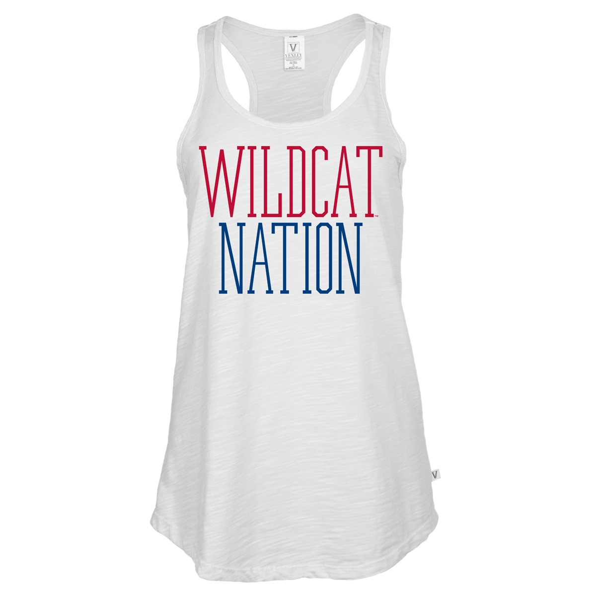 Image For Venley: Arizona Wildcat Nation Women's Racerback Slub Tank