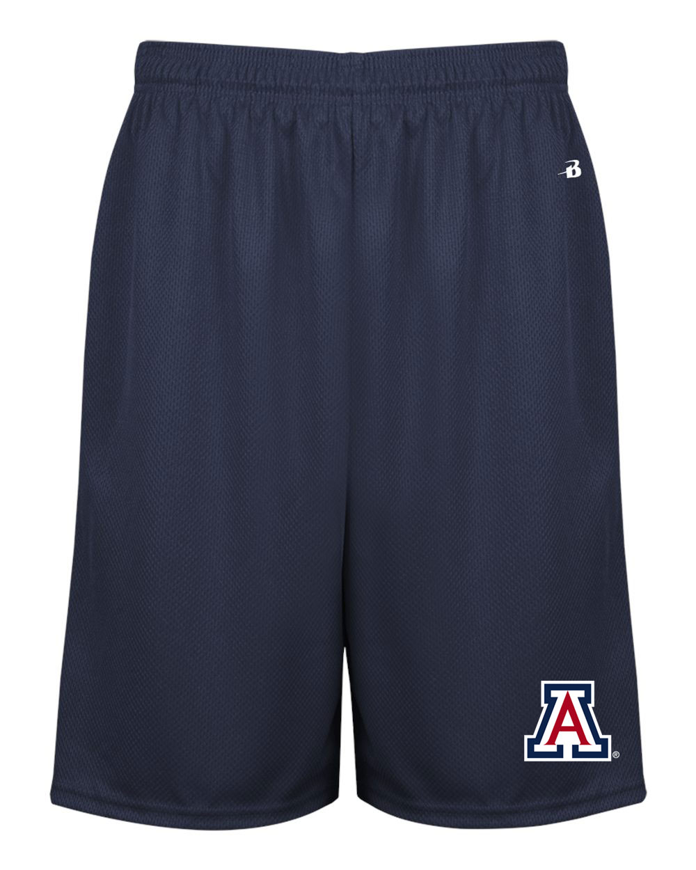 Image For Badger Sport: Arizona Money Mesh Pocketed Short-Navy