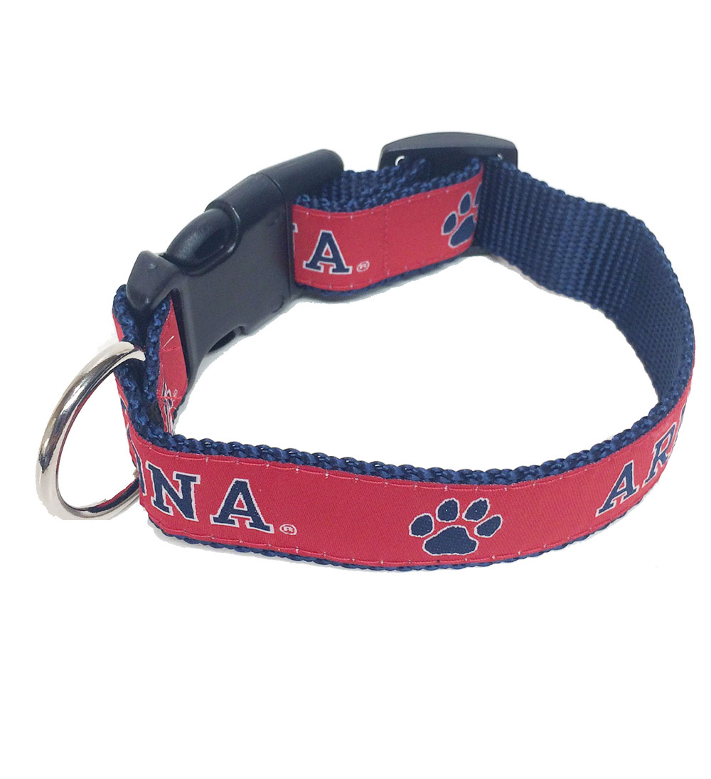 Image For RDI: Arizona Wildcats Heay Duty Pet Collar