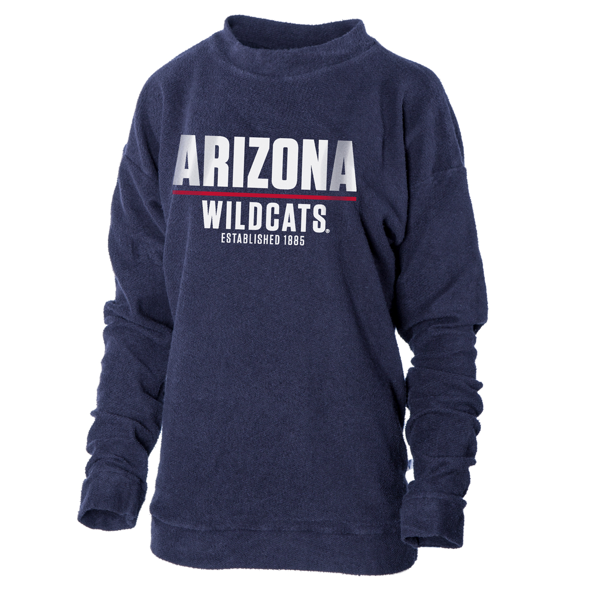 Image For Venley: Arizona Herrington French Terry Sweatshirt-Navy