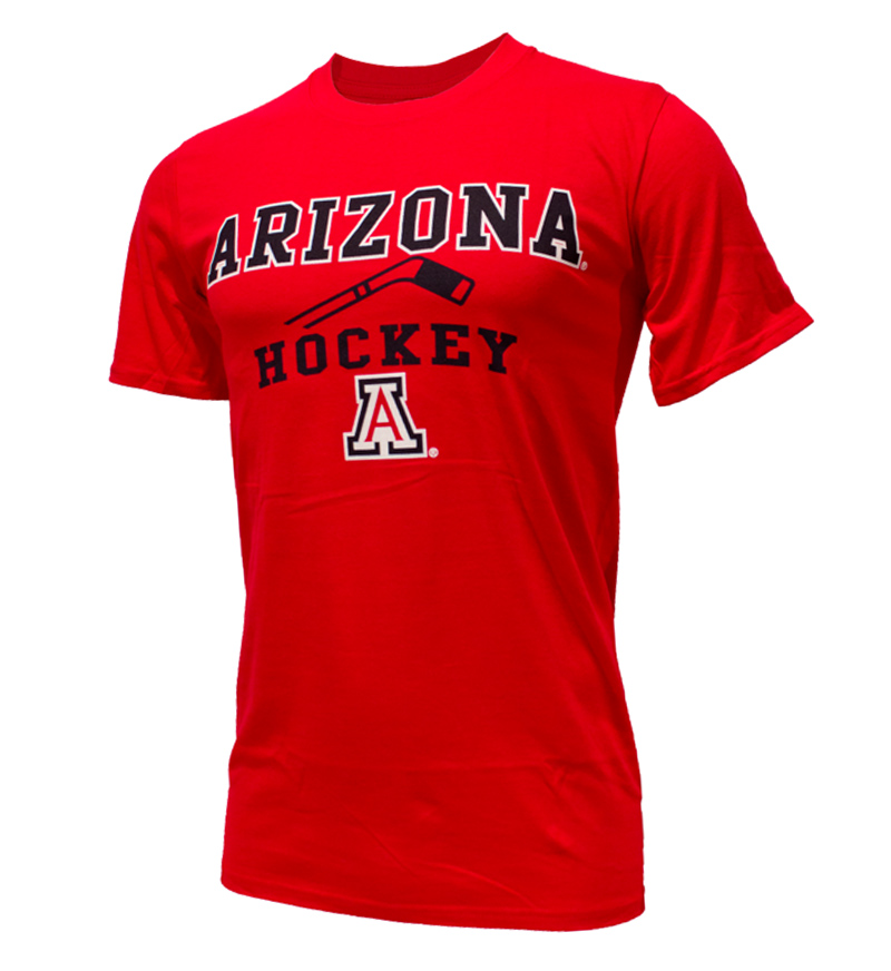 Cover Image For CT Beat: Arizona Sport Hockey Red Tee
