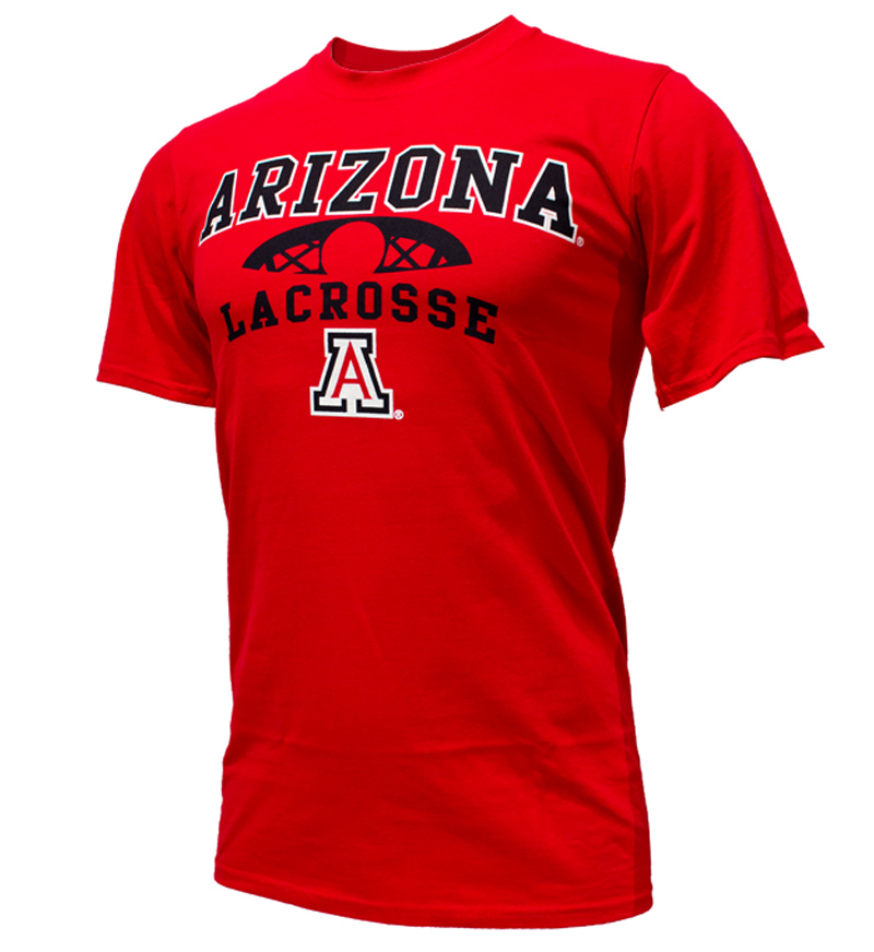 Cover Image For CT Beat: Arizona Sport Lacrosse Red Tee