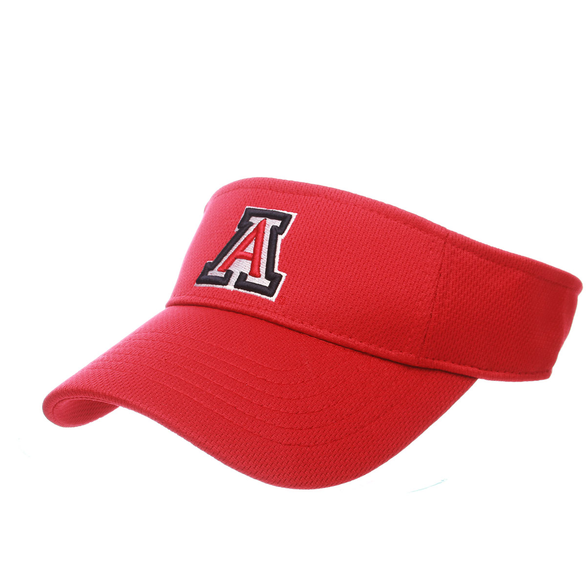 Image For Zephyr: Arizona Team Logo Authentic Visor-Red
