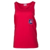 Cover Image for Venley: Arizona State Outlined Unisex Tonal Pocket Tank-Red