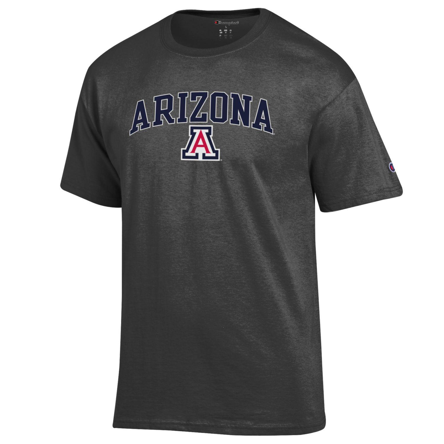 Image For Champion: Arizona Arch Team Logo Dark Heather-Grey