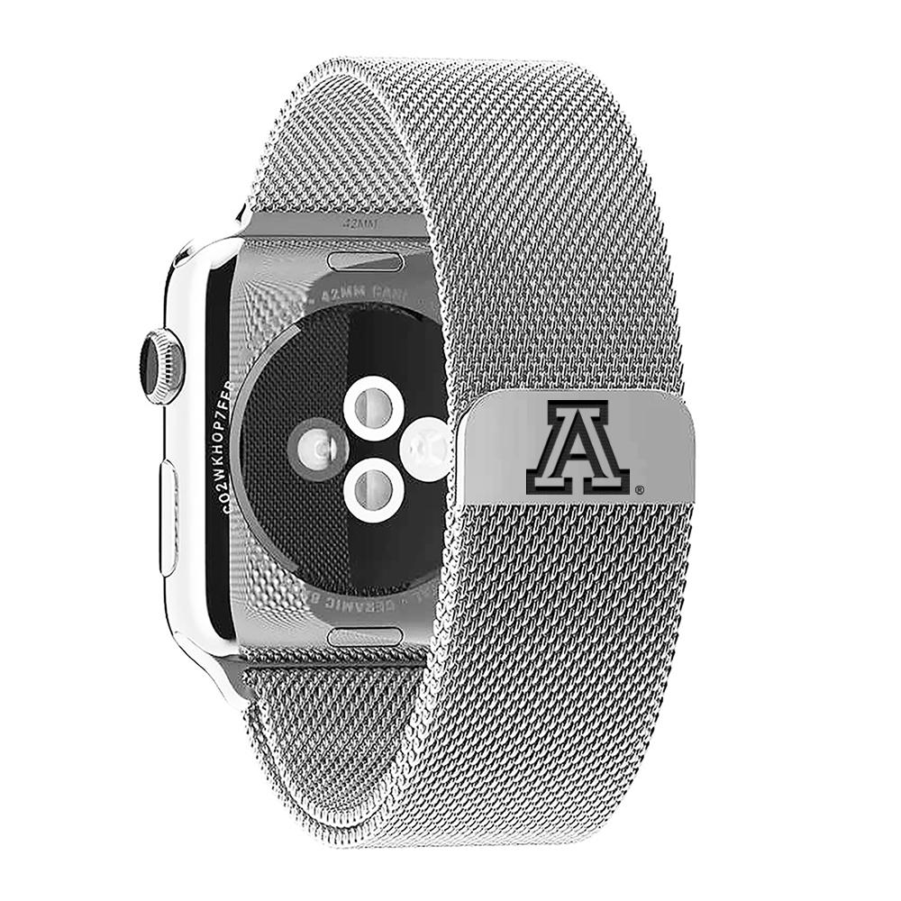 Image For Arizona Stainless Steel Milanese Band for Apple Watch