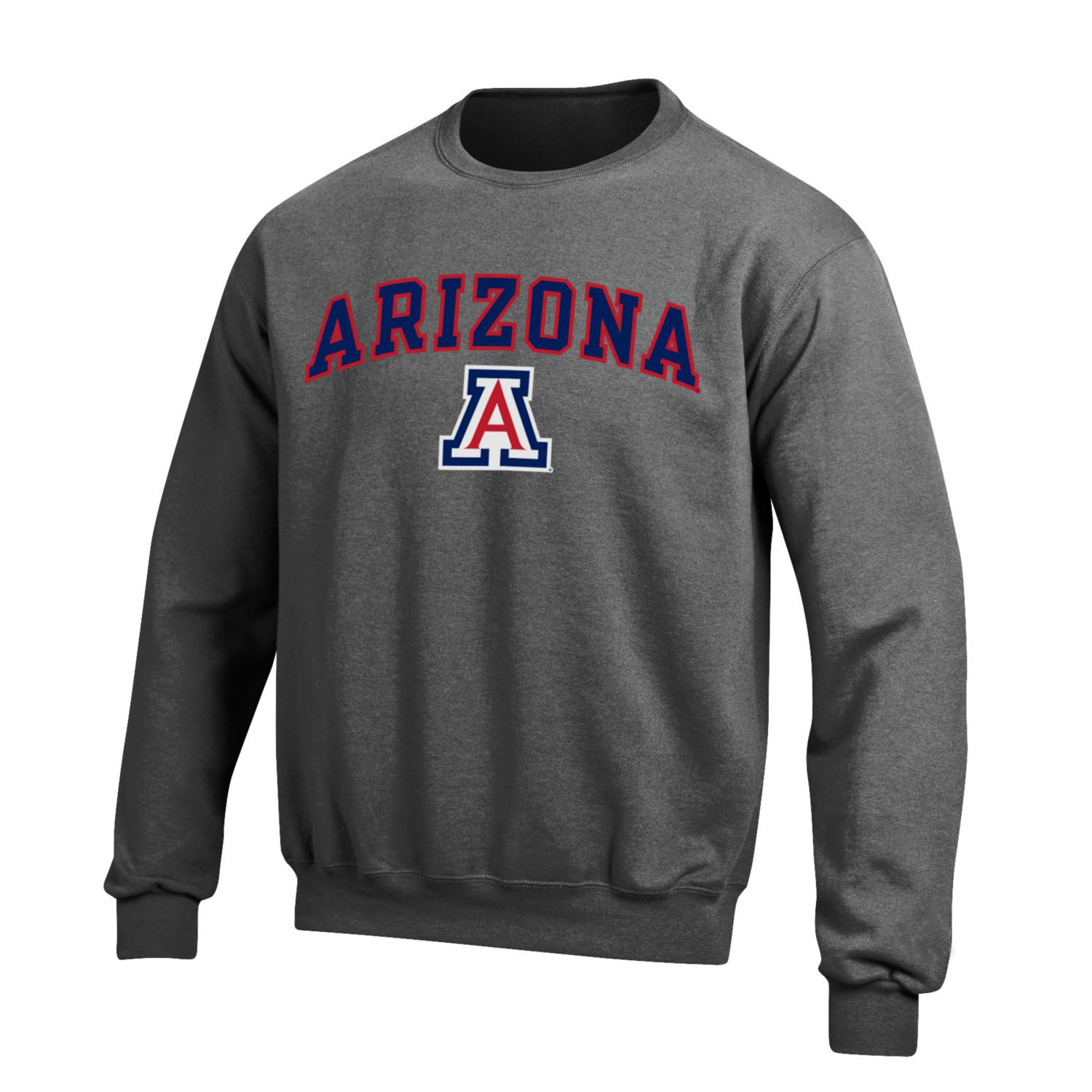 Image For Gear: Arizona Arch Logo Big Cotton Crew - Charcoal