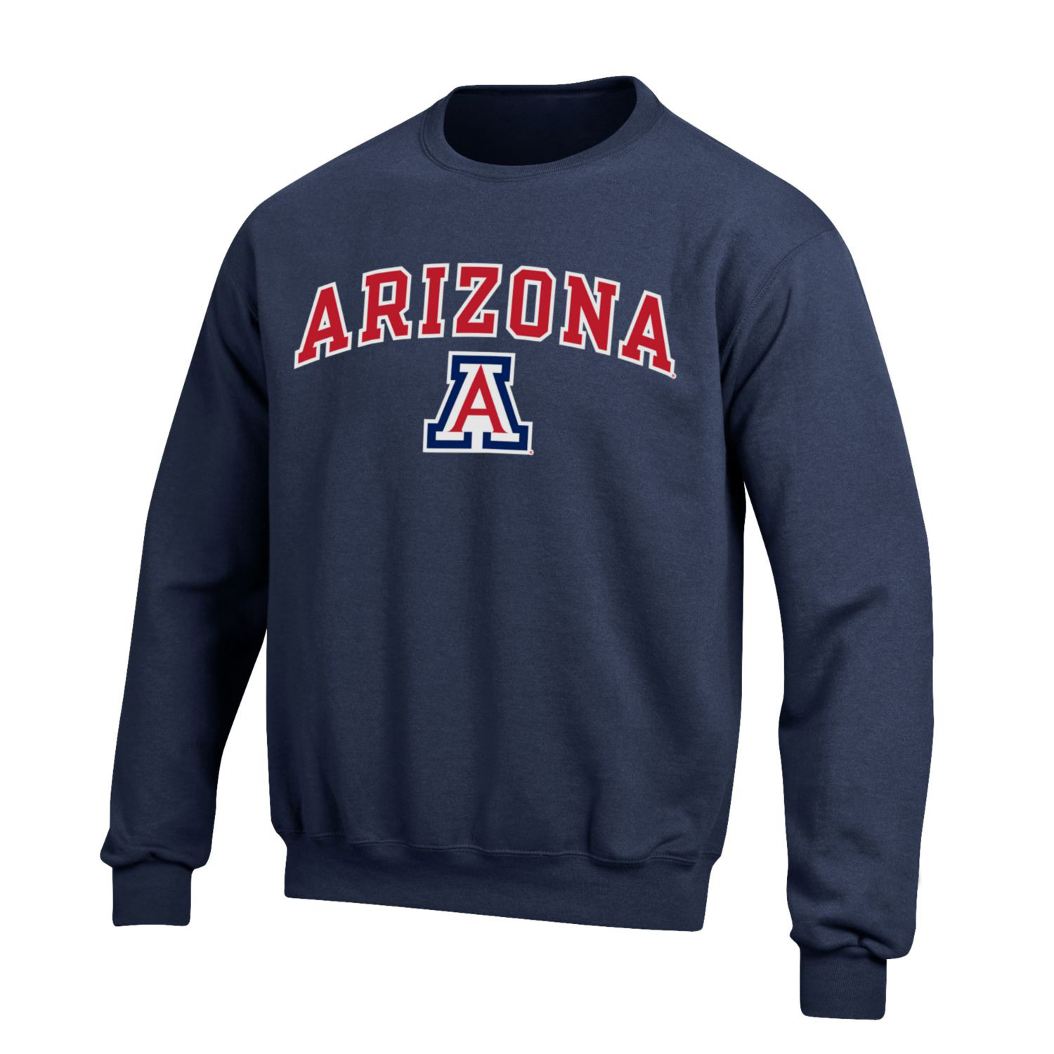 Image For Gear: Arizona Arch Logo Big Cotton Crew - Navy