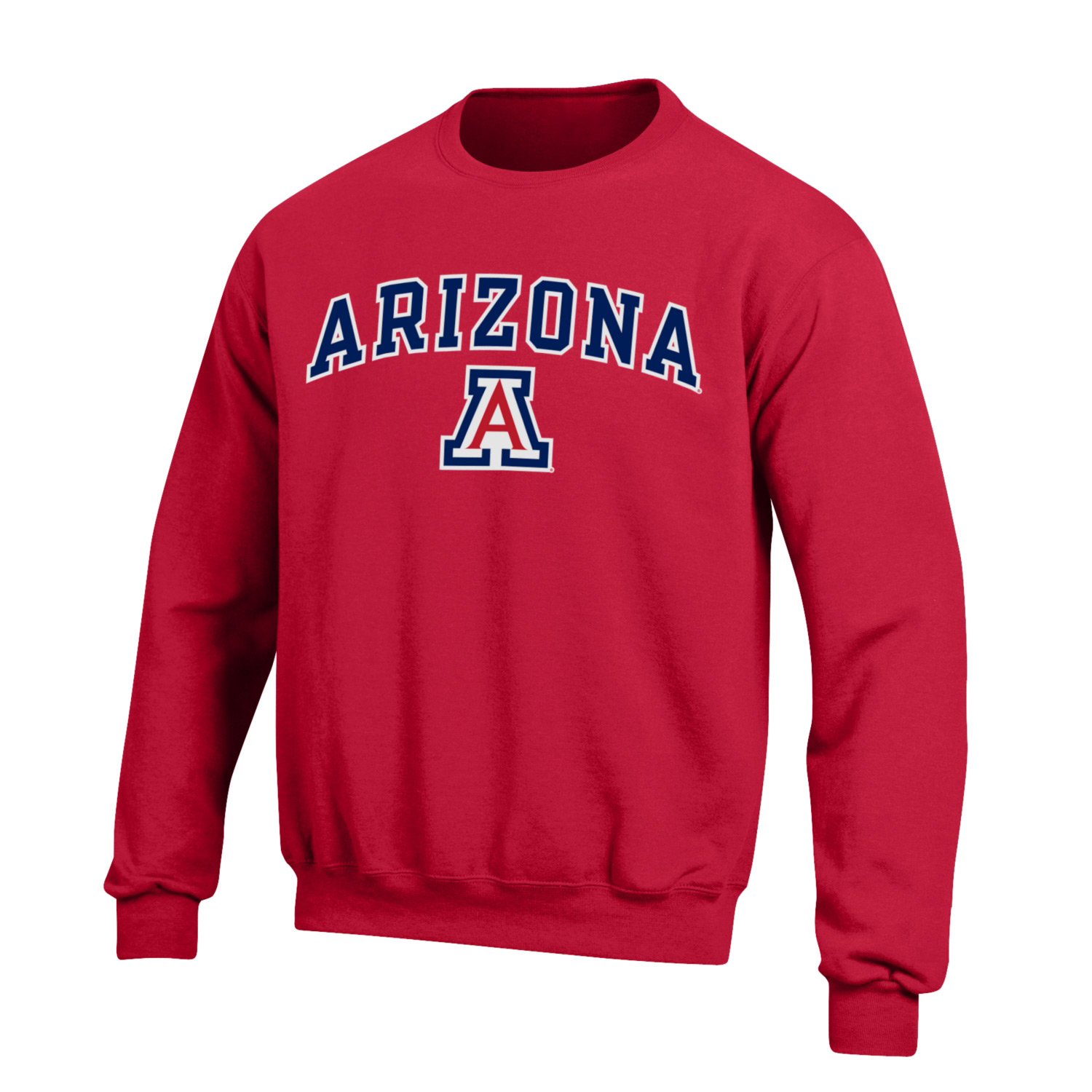Image For Gear: Arizona Arch Logo Big Cotton Crew - Red