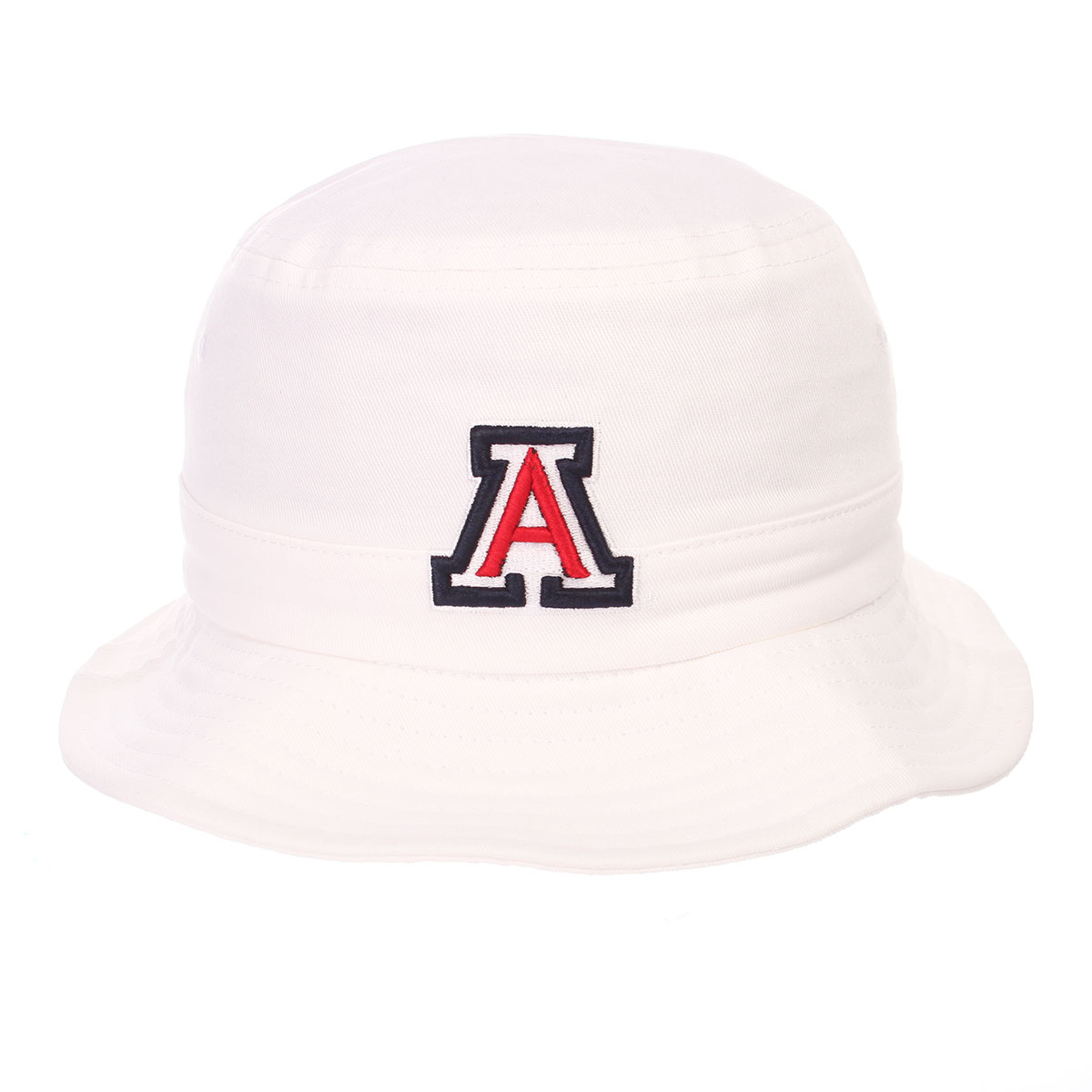 Image For Zephyr: Arizona Team Logo Youth Bucket Hat-White