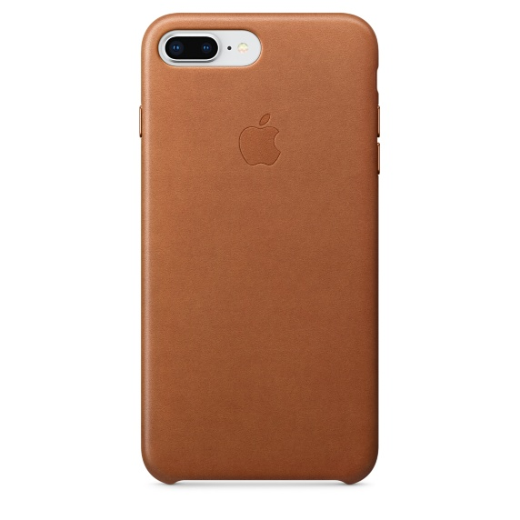 Image For Apple iPhone 8 Plus / 7 Plus Leather Case - Saddle Brown