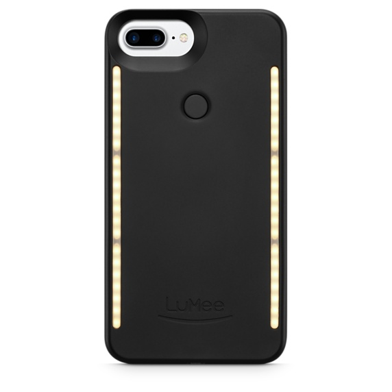 Image For LuMee Duo iPhone 8, 7, 6s, 6 Case - Black