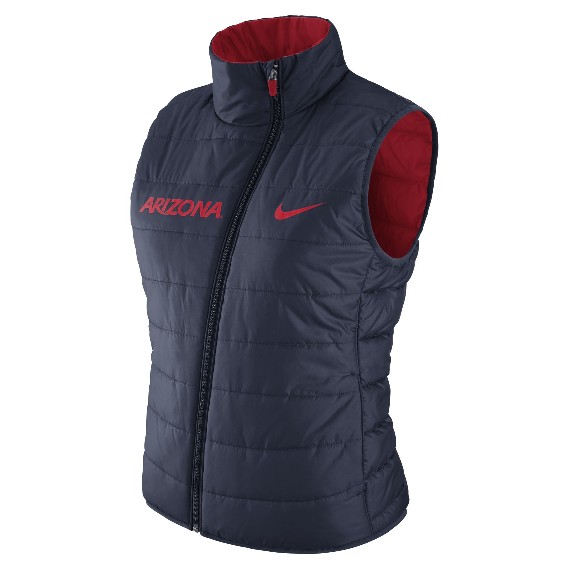 Image For Nike: Arizona Wildcats Reversible Women's Vest-Red/Navy