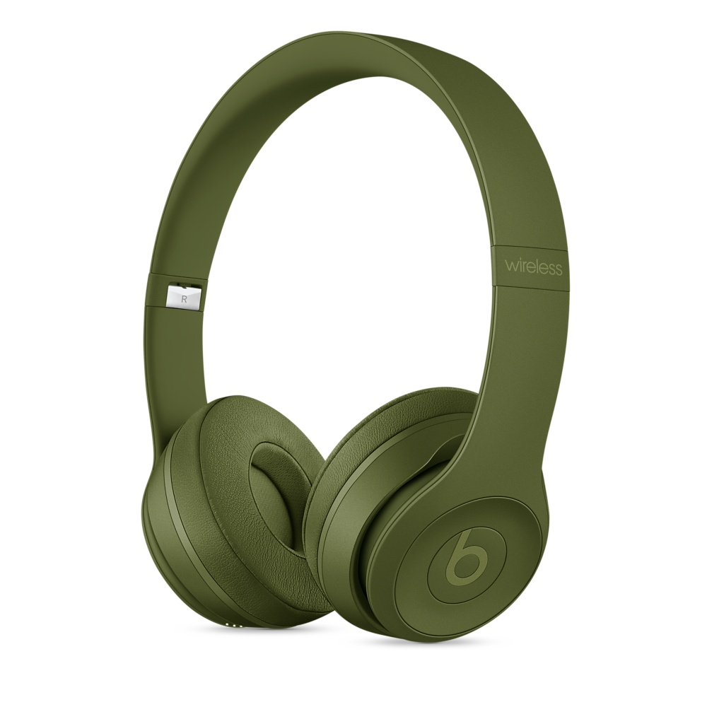 Image For Beats Solo3 Wireless On-Ear Headphones - Turf Green