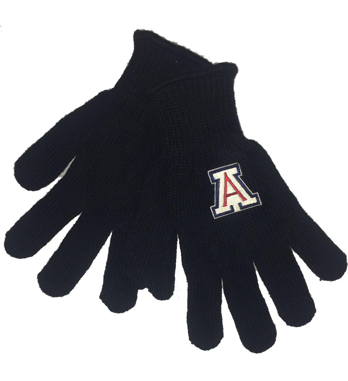 Image For Logofit: Arizona Team Logo Tailgate Gloves - Black