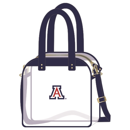 Cover Image For Capi Design: Arizona Carryall Tote Clear Bag