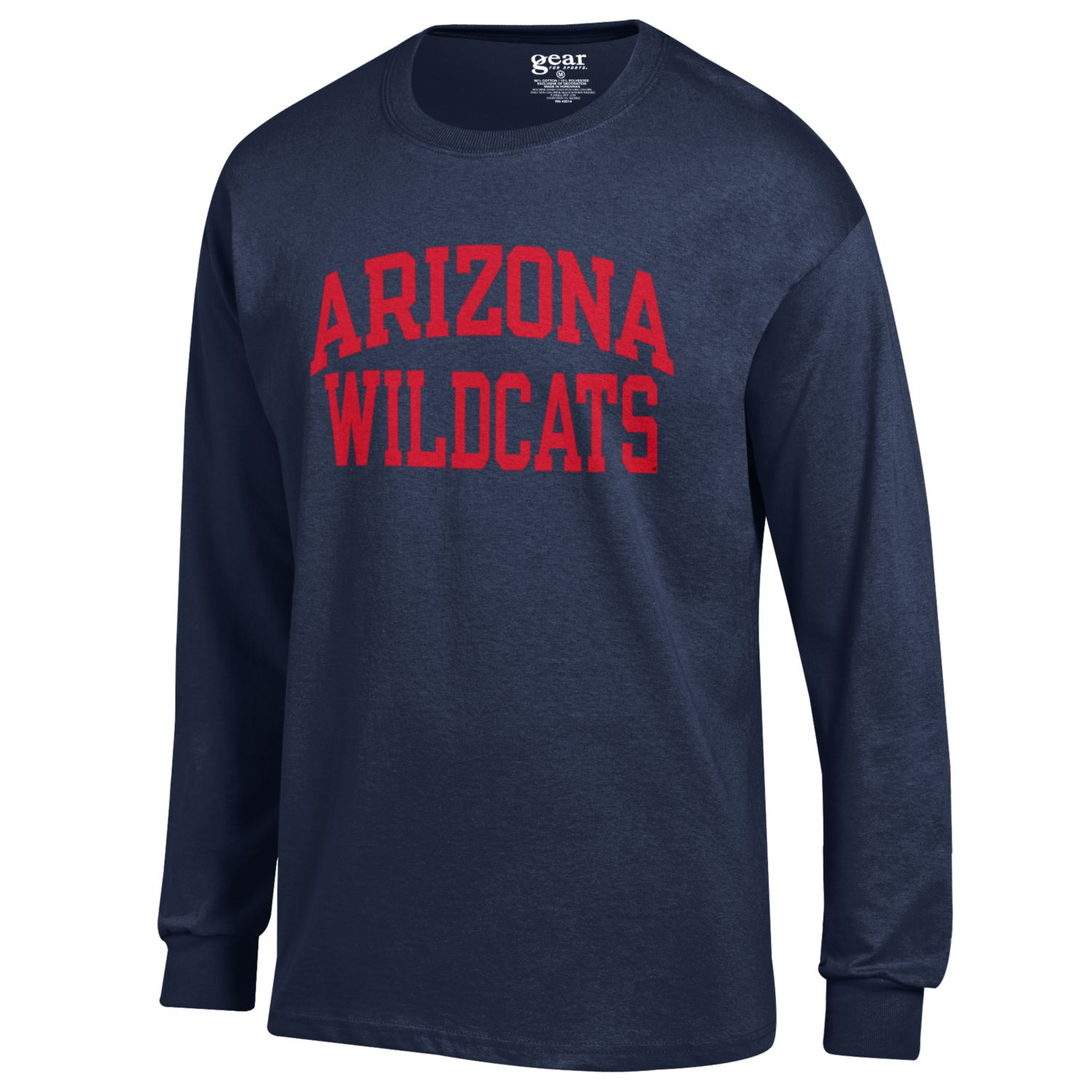 Image For Gear: ARIZONA WILDCATS Basic Long Sleeve Tee - Navy