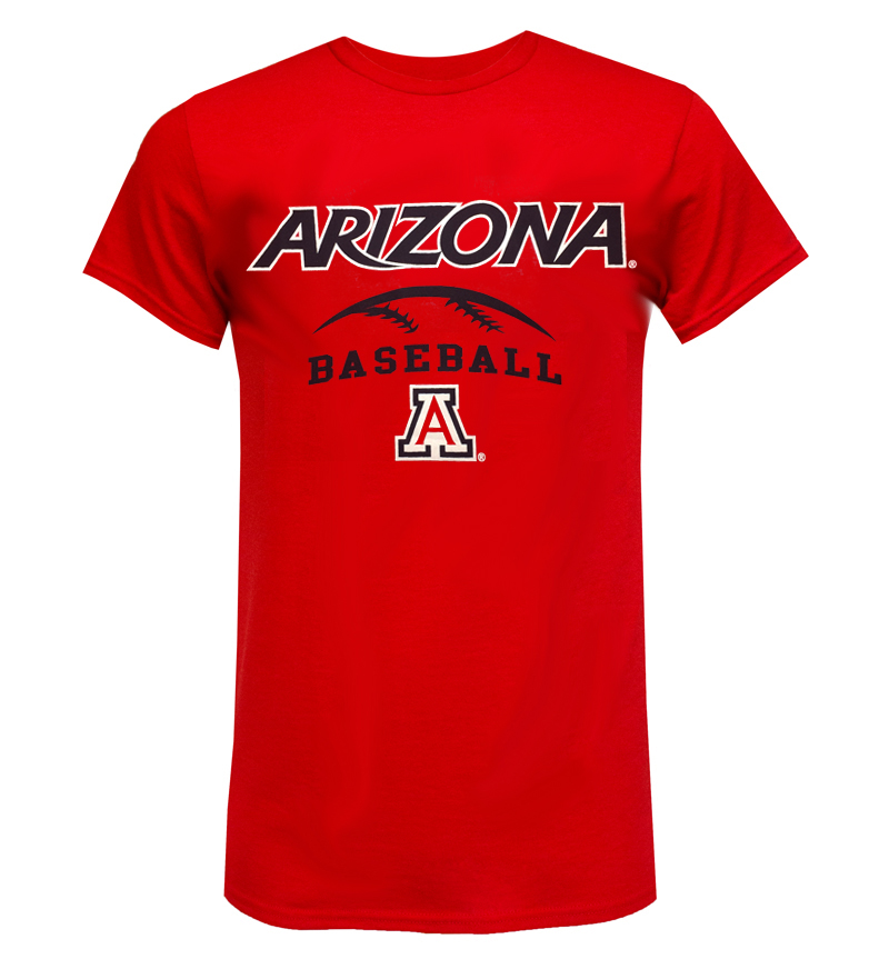 Cover Image For CT Beat: Arizona Sport Baseball Red Tee