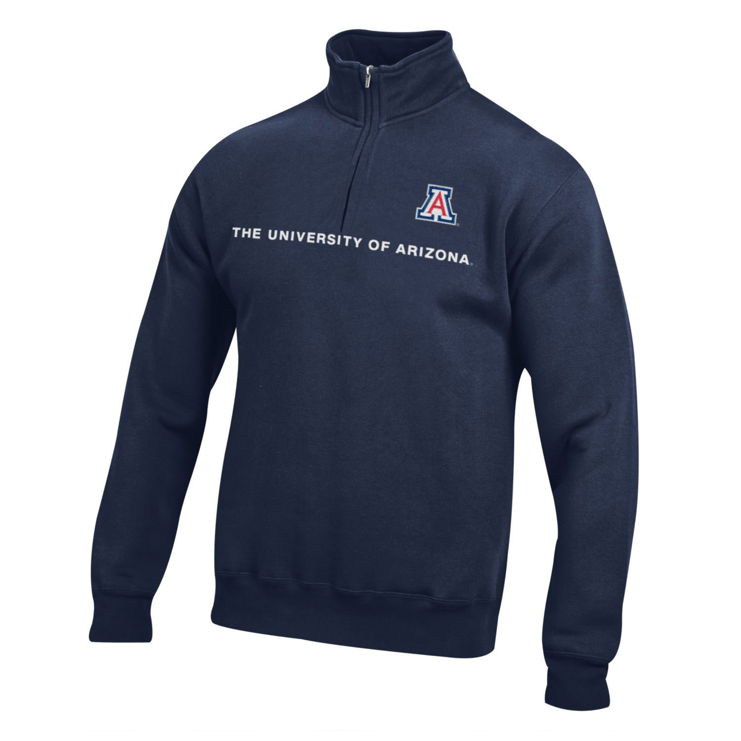 Image For Gear: The University of Arizona Big Cotton 1/4 Zip - Navy