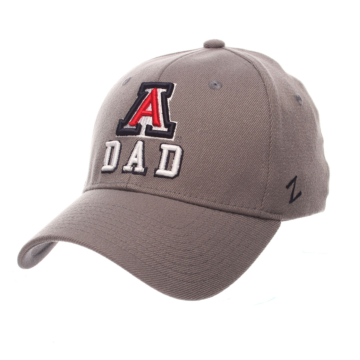 Image For Zephyr: Arizona DAD Authentic Stretch Cap-Gray