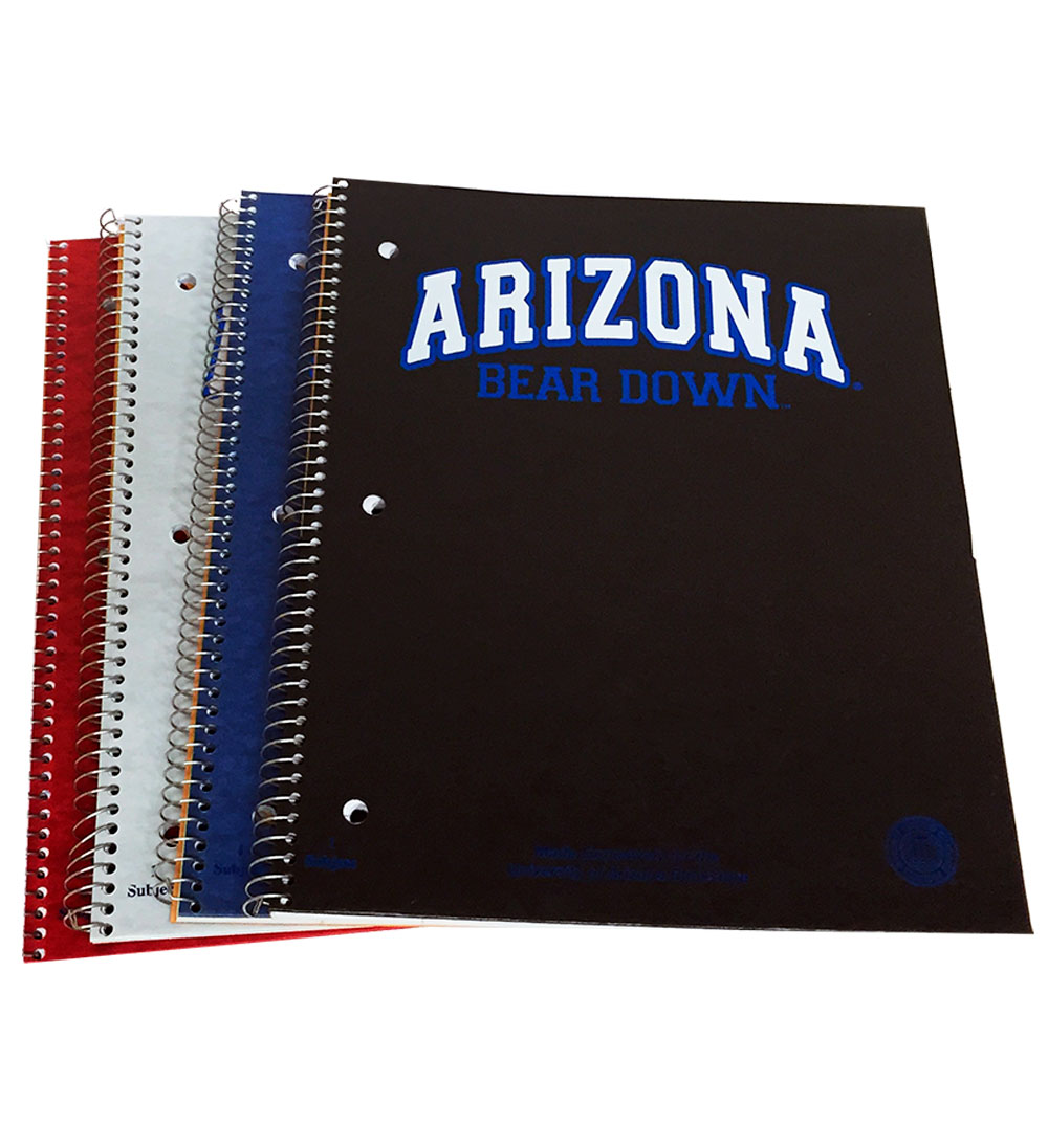 Image For Notebook: Arizona Bear Down 1-Subject